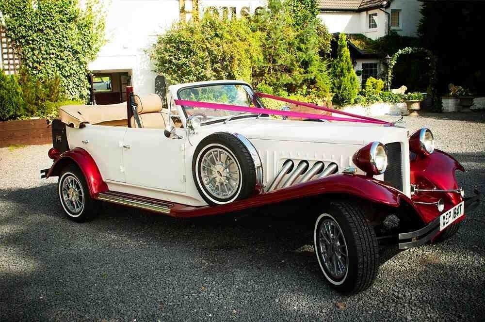 chauffeur driven bridal cars and 8 passenger wedding mini bus hire ...