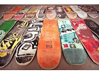 Wanted! Looking To Recycle Old, Used Or Broken Skateboards.