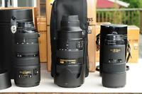 LOTS of USED NIKON digital SLR gear for SALE orTRADE