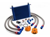 Mazda MX5 OIL COOLER KIT - COMPLETE BRAND NEW (Fits 1.6 1.8 mk1 mk2) COST £225
