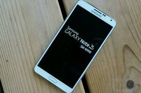 Wanted samsung galaxy note 3 for parts