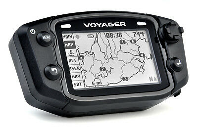 Trail Tech Voyager GPS Computer Kit Conventional Forks Air Cooled 12mm Sensor Air Cooled Forks