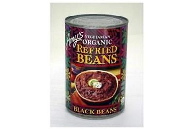 Amy's-Organic Refried Black Beans (12-15.4 oz cans)