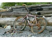 WANTED OLD BIKES NOT NEEDED ANYMORE TO BE RECYCLED AND REUSED
