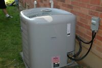 New Installed Air Conditioners and Efficiency Furnaces