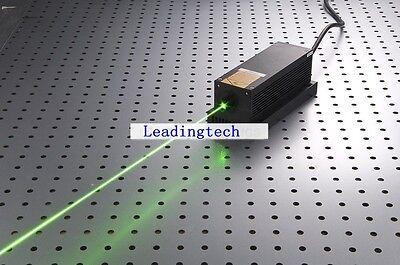 Adjustable Lab 532nm 2000mw 2w Green Laser Dot Module Analogtec Cooling