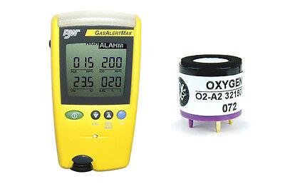 New O2-a2 Oxygen Sensor For Bw Technologies Gasalert Max 0918