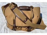 Billingham Camera 307 Bag in Khaki FibreNyte and Chocolate Leather