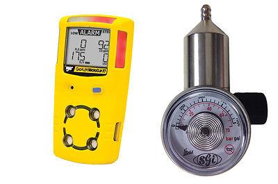 Fixed Flow Gas Regulator 0.5 Lpm - For Bw Gasalert Micro Micro5 Microclip Xt