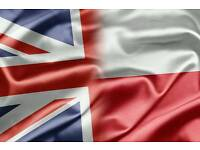 Polish-English or English-Polish translator Sheffield, Rotherham