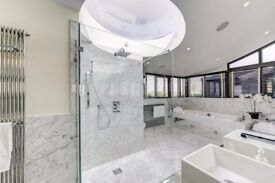 A penthouse apartment with private panoramic terrace and outdoor Jacuzzi, Petersham House SW7
