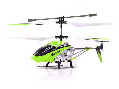 Syma S107G 3 Channel RC Tranny Remote Control Helicopter with Gyro - GREEN