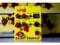 Rare WMD Geiger Counter - High gain modern preamp distortion fuzz Chaos
