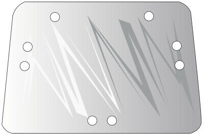 R110990 Upper Rear Glass For John Deere 7200 7210 7400 7410 7510 Tractors