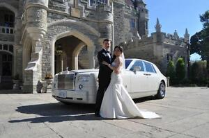 GTAs Newest White Rolls Royce Phantom Limo Limousine Wedding City of Toronto Toronto (GTA) image 6