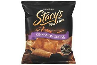 Cinnamon Sugar Pita Chips - Stacy's Pita Chips-Cinnamon Sugar Pita Chips (24-1.5 oz bags)