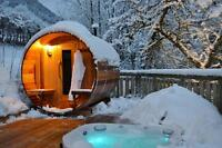BARREL SAUNAS | HEATERS INCLUDED | 12 SIZES | FREE DELIVERY