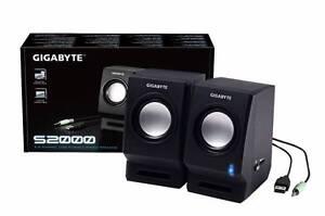 Gigabyte S2000 USB stereo speakers NIB St Agnes Tea Tree Gully Area Preview