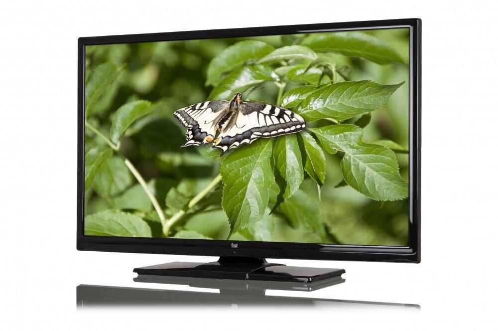 Dual 40 Zoll 100cm LED Backlight LCD TV Fernseher W-Lan B-Ware DL40F289PCWI 1244