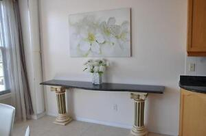 Granity Hallway Table --- Beautiful home decor