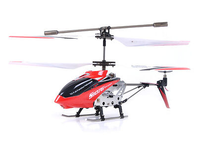 Syma S107G 3 Channel RC Ghetto-blaster Remote Control Helicopter with Gyro - RED