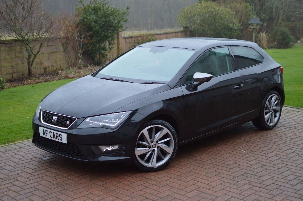 seat leon tdi fr technology black 2014 in laurencekirk aberdeenshire gumtree. Black Bedroom Furniture Sets. Home Design Ideas