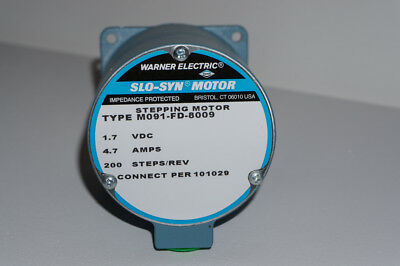 Warner Electricsuperior Electric Slo-syn Stepper Motor Model M091-fd-8009