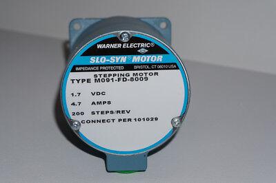 Warner Electricsuperior Electric Slo-syn Stepper Motor Model M091-fd-8009