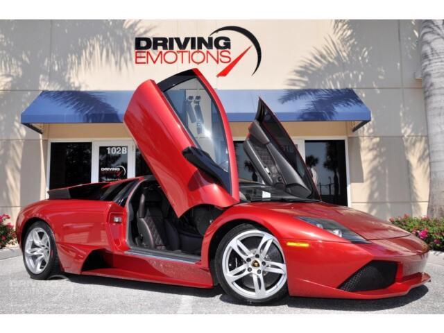2008 Lamborghini Murcielago LP640 Coupe 2-Door 2008 LAMBORGHINI MURCIELAGO LP640! ROSSO LETO! Q-CITURA! CARBON! NAV! LOW MILES!