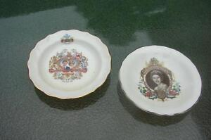 2 Small Collector Plates