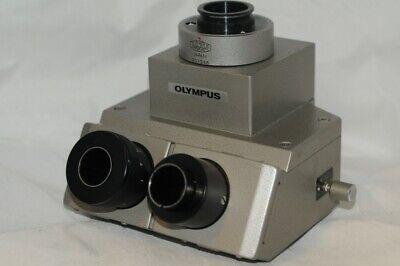 Olympus Vanox Trinocular Microscope Head H69