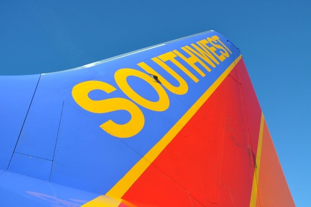 2 Southwest Airlines Luv Vouchers - $90.00