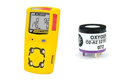New! O2-A2 Oxygen Sensor for BW Tech Gas Alert MicroClip XT (1/17)