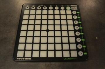 Ableton novation launchpad met usb