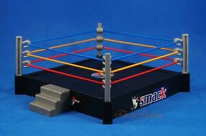 Wrestling Ring Arena Platform WWE WWF Micro Aggression Rumblers Figure RAW A596