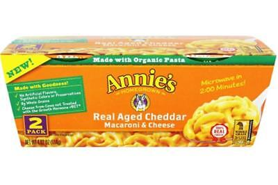 (Annie's Homegrown-Real Aged Cheddar Macaroni And Cheese (6-4.02 oz boxes))