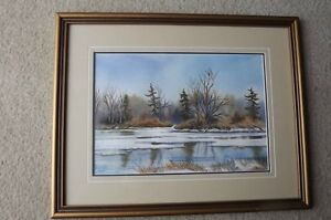 FS: Janet Forsyth (water colour) Original signed Paintings [matt London Ontario image 1