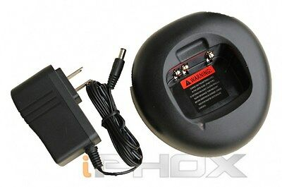 Rapid Charger For Motorola Pmnn4018 Pro3150 Ct250/450 Gp3...