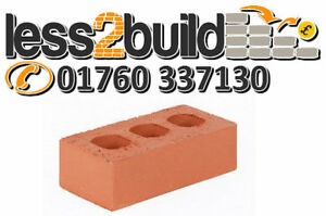 Red Class B Perforated Engineering Brick