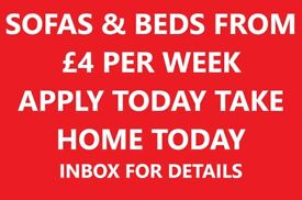 PAY WEEKLY SOFAS & BEDS