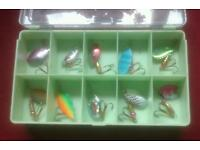 Spinners for trout or perch
