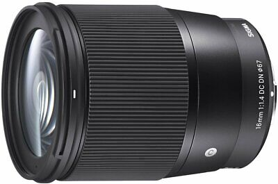 Sigma 16mm F/1.4 DC DN Contemporary Lens for Sony