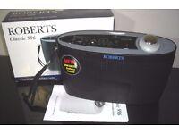 Roberts Classic 996 Battery Radio brand new LW/MW/FM