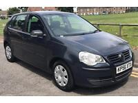 VW POLO, 2006 56 PLATE, 1.2 PETROL, 3 DOOR, MOT 17 NOVEMBER 2017
