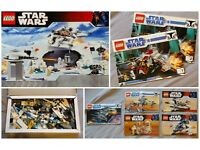 Big Box of Mixed Star Wars Lego - 7 x Sets