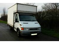 Iveco Luton Box Van MWB 12' with Tail Lift