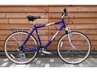 Raleigh Hybrid Bike - Hardly used, fully serviced and great condition , commuter town