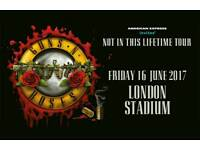 2x tickets guns n roses London. Tickets ready to collect