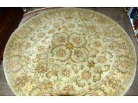 8 foot diameter circular rug