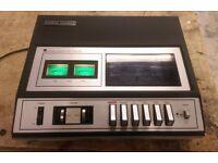 Vintage National Panasonic 261 toploading Cassette Deck